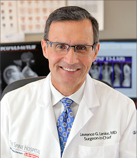 Lawrence G  Lenke, MD | Leading Expert in Complex Spinal Deformity