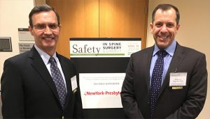 Lawrence Lenke, MD and Michael Vitale, MD: Co-chairs of Safety in Spine Surgery Summit