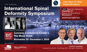 ISDS-International Spinal Deformity Symposium-2018