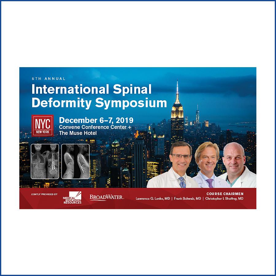 ISDS-Spinal Deformity Meeting-2019
